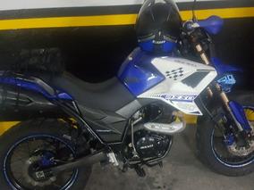 Moto Axxo Traker 250 Color Azul 2015