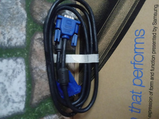 Cable Vga Extension Monitor M/h 15/15 1.75 Mts