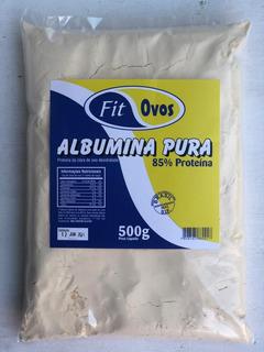 Albumina Pura 3kg (6 Pacotes De 500g) 85% Proteína