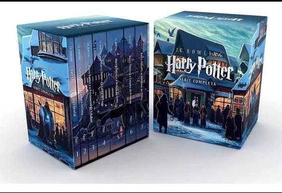 Box Harry Potter Coleção Completa 7 Livros (novo/lacrado)