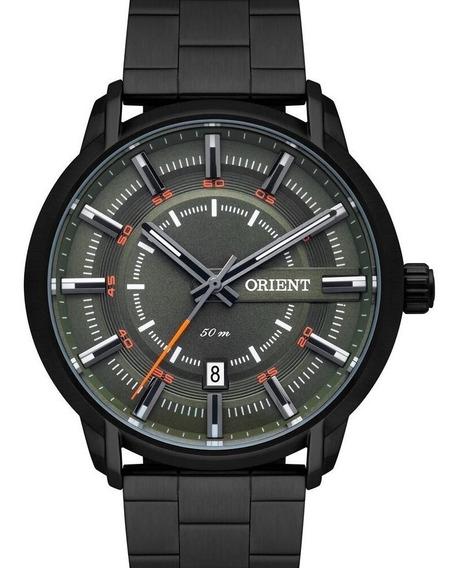 Relógio Orient Masculino Preto Verde Mpss1010 E1px