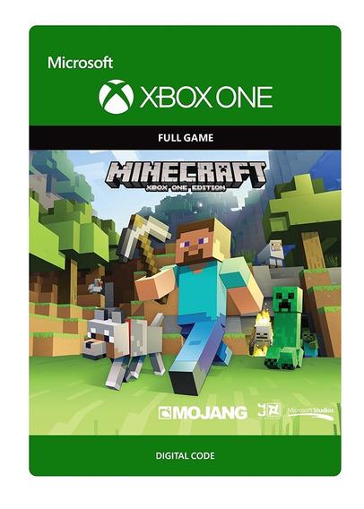 Minecraft Xbox One Código 25 Dígitos
