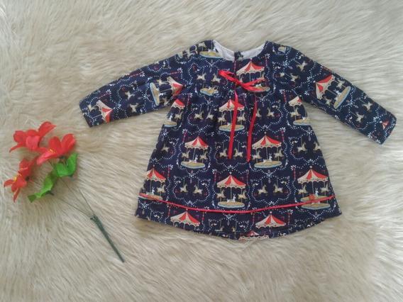 Vestido Little Akiabara Infantil 12 Meses