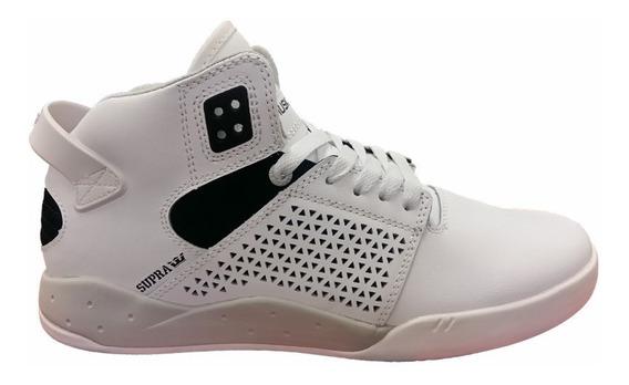 Supra Skytop 3 White Black White