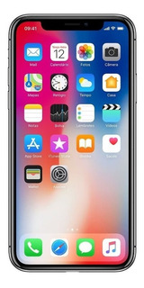 Apple iPhone X 256gb Cinza Original Tela 5,8 Capa De Brinde