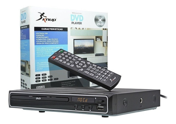 Dvd Player Hdmi Hd 5.1 Canais Rca Usb Mp3 Função Karaoke