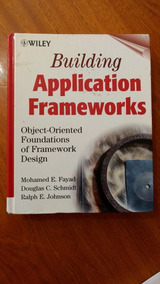 Bulding Applicatiion Frameworks