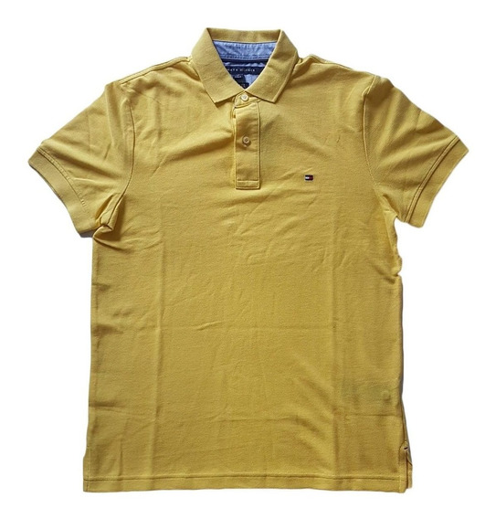 Camisa Polo Tommy Hilfiger Custom Fit Masculina Original