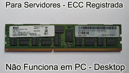 Memória 8gb Pc3l-10600r Ecc P Server Dell Hp Ibm