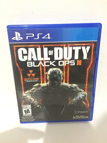Call Of Duty Black Ops 3 En Español Playstation 4