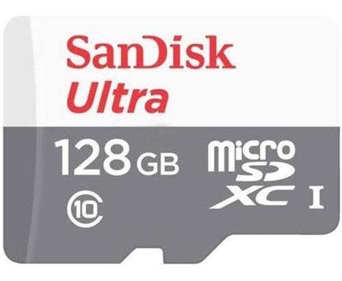 Cartão Micro Sd Ultra 128gb Classe 10 80mbs Sandisk Original