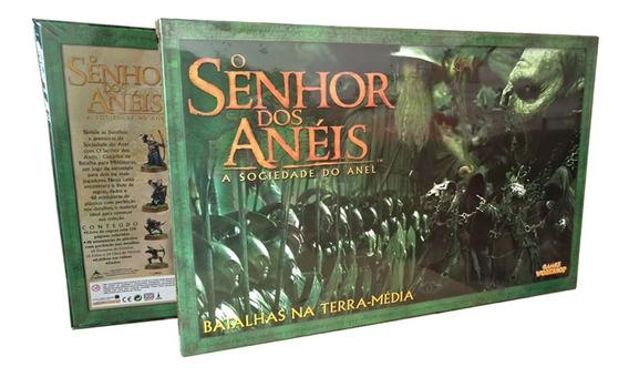 Jogo De Miniaturas - O Senhor Dos Anéis: A Sociedade Do Anel