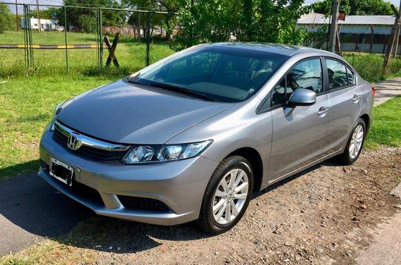 Honda Civic Lxs - 2012 - Service En Honda Oficial -