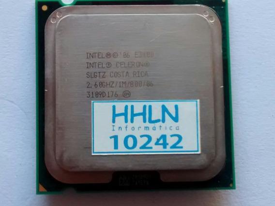 Processador Intel Celeron E3400 2.6ghz 1m 800 Lga 775 10242