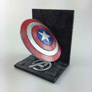 Sujetalibros Escudo Capitán America