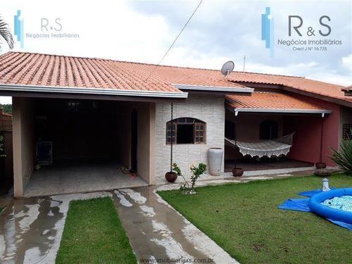 Chácara Com 3 Dormitórios À Venda, 2340 M² Por R$ 850.000,00 - Monterrey - Louveira/sp - Ch0025