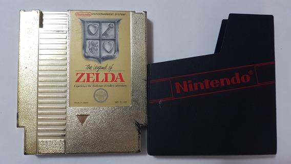 Zelda Para Nintendinho Nes Original Americano Com Encarte