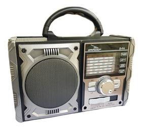 Rádio Portátil Bluethoot/am/fm/usb 8w Rms D-f4-grasep