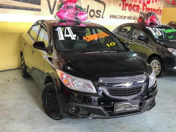 Chevrolet Prisma 1.0 Lt 8v 2014 Completo + My Link
