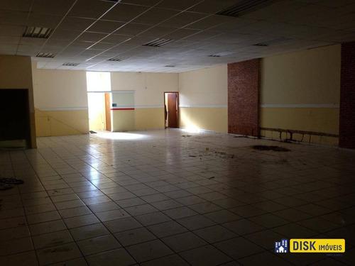 Galpão Para Alugar, 465 M² Por R$ 8.200,00/mês - Vila Santa Terezinha - São Bernardo Do Campo/sp - Ga0023