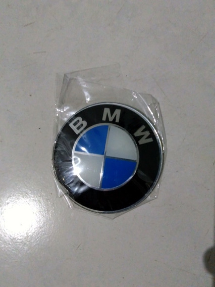 Emblema Bmw Alumínio 65mm