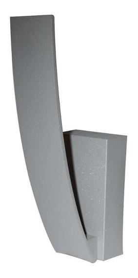 Lámpara Luziré Led 3w 3000k Para Muro Diseño Moderno Gris