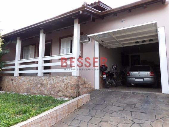 Excelente Casa Com 3 Dormitorios Em Sapucaia - V-614