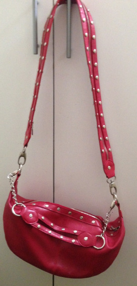 Cartera Mango Roja Importada Original Impecable!!!!!!!!!!!!!