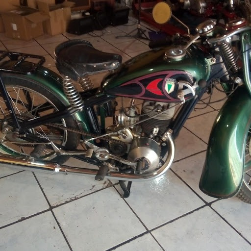 Motocicleta Antiga Dkw Modelo Sb300 Ano 1938