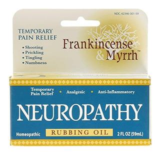 Aceite Frotamiento De Incienso Neuropatía 2 Onzas Líquidas