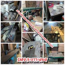 Se Vende O Se Permuta Maquinaria De Carpinteria