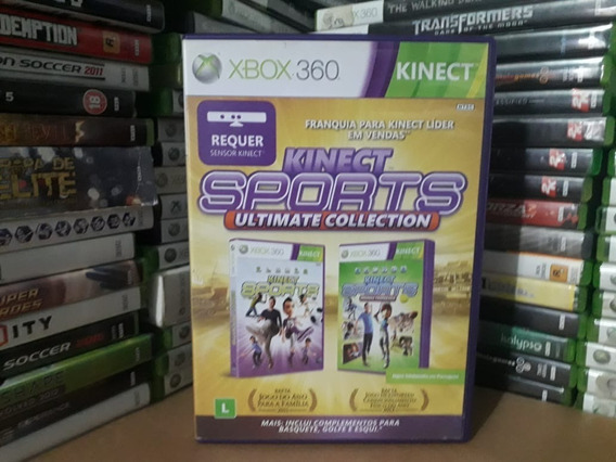 Jogo Kinect Sports Collection 1 E 2 Xbox 360 Original Mídia