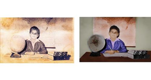 Imagem 1 de 4 de Restauração E Colorização De Fotos Atigas