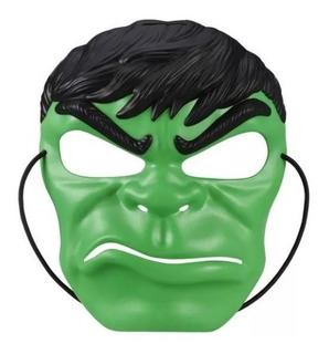 Mascara Super Heroes Spiderman Hulk Cap America Ironman Has