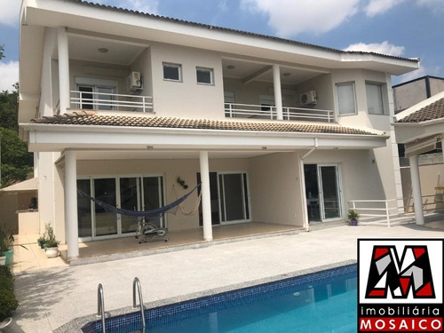Imagem 1 de 29 de Casa No Condomínio Portal Do Paraíso Ii Com Piscina, Permuta Apartamento. - 94382 - 4492055