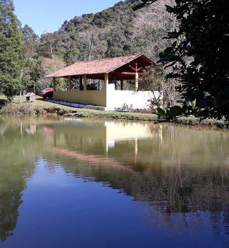 Imagem 1 de 14 de Terreno Com Lago Para Formação De Chácara