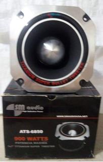 Super Tweeter Bala Titanium 7x7 Pulgadas 900 Watts Sm Audio