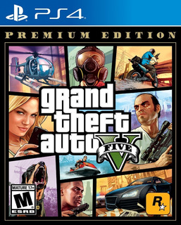 ..:: Gta Grand Theft Auto 5 Premium Edition ::.. Para Ps4
