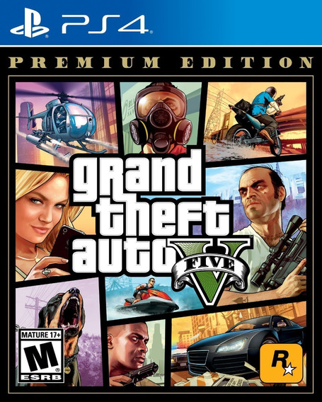 ..:: Gta Grand Theft Auto 5 Premium Edition ::.. Para Ps4