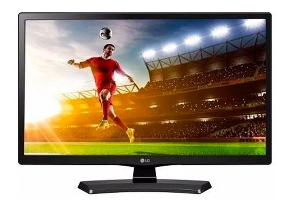 Tv Monitor Lg 24 Led Hd 24mt49df Hdmi Usb D-sub Componente