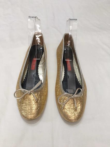 Flats Zapatos Carolina Herrera Ferrag Tory Michae Talla 5