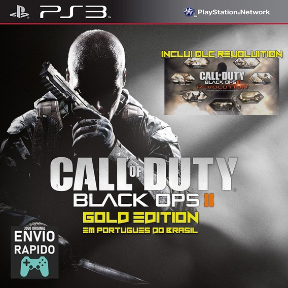 Call Of Duty Cod Black Ops 2 Bo2 + Dlc Revolution - Jogo Ps3