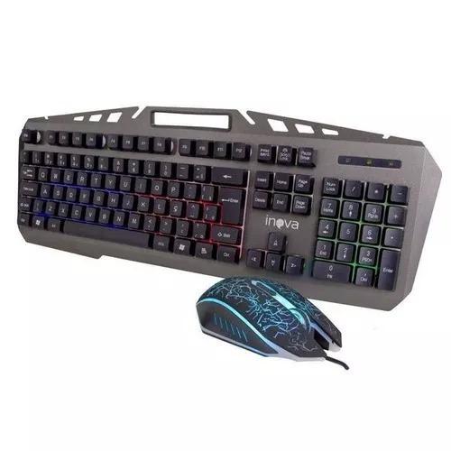 Kit Teclado E Mouse Game