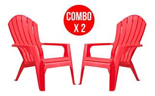 Combo X2 Sillón Garden Life Miami (2 Colores) Ahora 12 Y 18