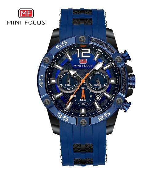 Relógio Mini Focus Mf0349g - Cronógrafo