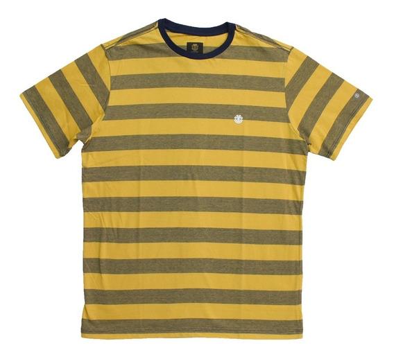 Camiseta Element Darwen - Amarelo / Marinho