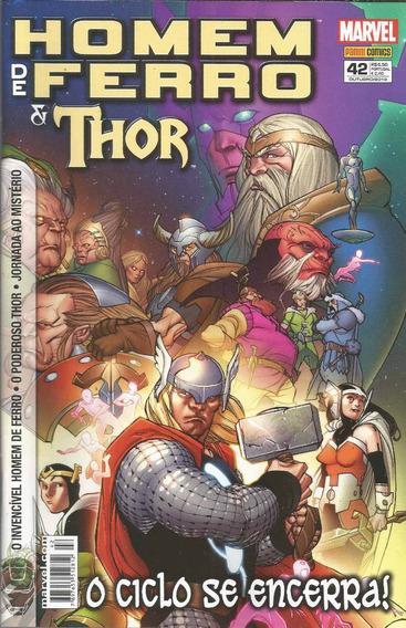 O Invencivel Homem De Ferro & Thor 42 - Bonellihq Cx77 G19