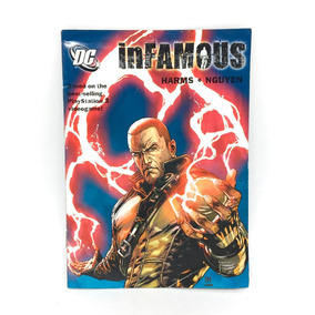 Hq Dc Comics Infamous Harms & Nguyen Usada + Pôster Brinde