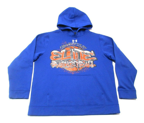 Buzo Hoodie Under Armour Basketball Talle S
