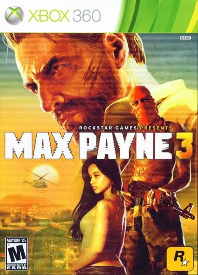 Jogo Max Payne 3 Xbox 360 - Original